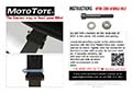 MotoTote Zero-Wobble Bolt Instructions
