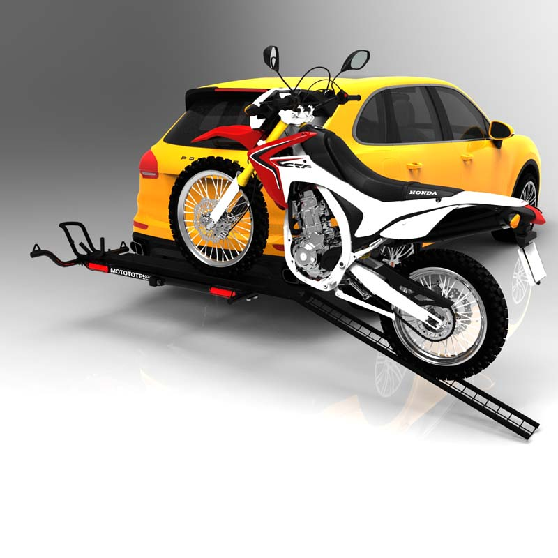 Trailer Hitch Motorcycle Carrier >> Mototote Mtx M3 Motorcycle Carrier